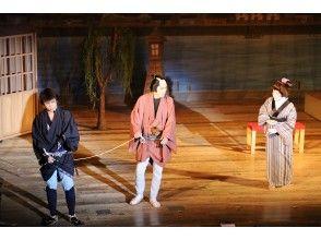 """[秋田·小坂町]明治的剧场""""Korakukan""""的受欢迎的剧场观看♪黑子(导游)的设施向导!"""