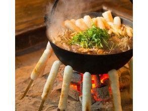 [秋田·Odate]故鄉大館Kiritanpo製作經驗!有趣和美味♪味道醬油+ Hiuchi當地雞用Kiritanpo火鍋