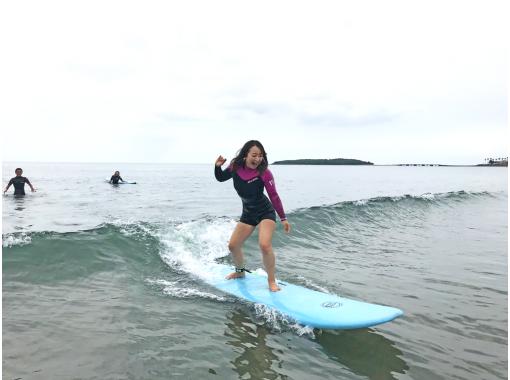 【宮崎青島】プロサーファーによる、手ぶらでサーフィン体験コース!海まで徒歩1分!