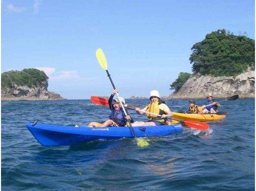 【徳島・海陽町】水床(みとこ)湾・太平洋シーカヤック (夏季は+スノーケル)