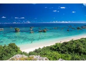 【宫古岛/半天】 ② 俯瞰翡翠般闪耀的宫古蓝海!可选风景海滩 SU 或独木舟 [免费照片数据]
