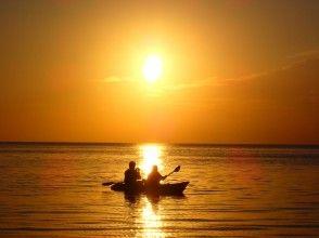 [宫古岛/晚上] ③ 被茜草色的夕阳包裹着......可选的日落SU或独木舟之旅[照片数据免费]