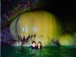 【宫古岛/1日】南瓜石灰岩洞穴探险海龟浮潜! Ryugu Castle Set [照片数据免费]