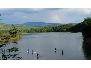[Hokkaido / Furano] Nokanan Lake (Lake Nokanan) A relaxing lake SUP tour (half-day course)