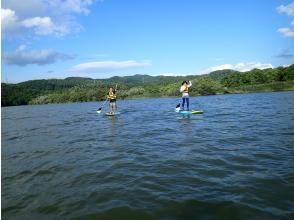 [Hokkaido ・ Furano] Lake Kanayama leisurely SUP tour (half-day course)
