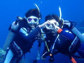 """""""Let's enjoy the sea! ! The sea! ! Snorkel & Experience Diving Set Plan """""""