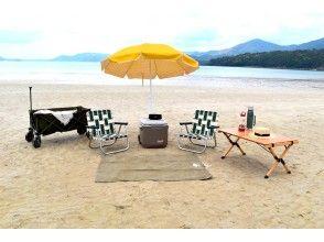 【長崎・五島】いろいろ選べるビーチセットレンタルプラン