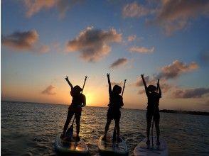 ★感動間違いなし★海に沈む夕日を見ながらサンセットサップツアー!