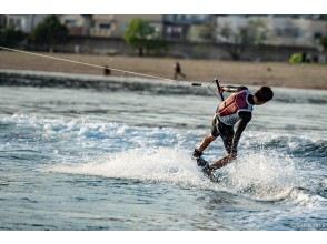 [Hyogo ・ Nishinomiya]Wakeboarding(15 minutes) Safe even for the first time!