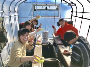 [Fukushima/ Hagiwara Lake] Smelt Smelt fishing hand-with Snowmobile or motorboat excursion & souvenirs (morning)