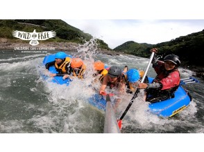【熊本・人吉】【GoPro写真動画プレゼント】九州で最も激しいラフティングリバー(午後コース)人吉温泉付き