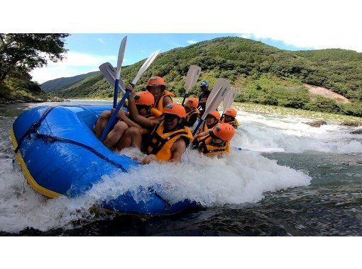 【熊本・人吉】【GoPro写真動画プレゼント】九州で最も激しいラフティングリバー(午後コース)