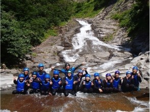 With lunch ☆ [W Challenge ☆ Hanage Canyoning & Water / Rafting] 2nd event per day, very satisfying course!