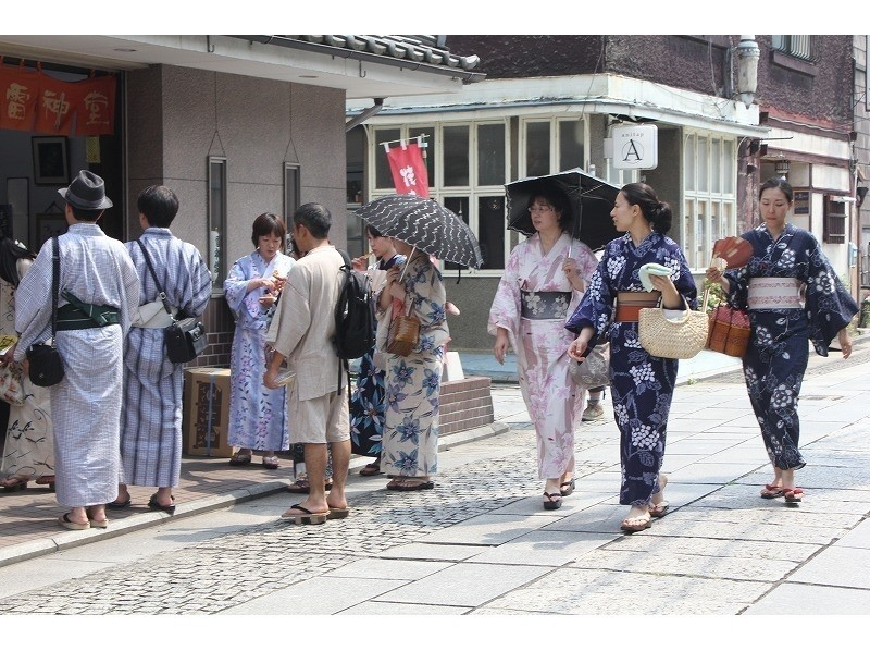 Sunflower plan [Tochigi/ Ashikaga] ☆ Summer only ☆ Yukata dressing experience (free day walk) May to Septemberの紹介画像