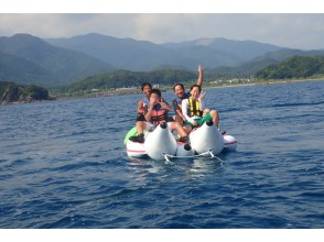 [Kochi ・ Tosashimizu] Snorkel relaxed on a premium beach going by banana boat