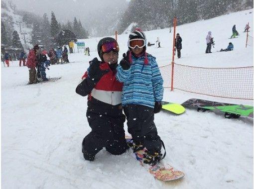 【滋賀・大津市】「ジュニアレッスン」7才~8才対象!スノーボードを楽しむ事から始めよう!