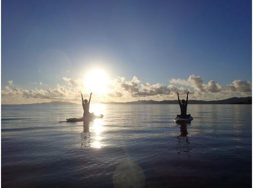 【沖縄・石垣島】1組貸切ツアー! リラックスSUPヨガ の紹介画像
