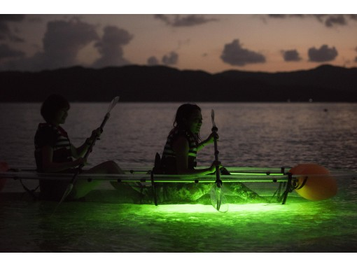 【奄美大島・SUP】夜の海をお散歩!ナイトカヤックツアー