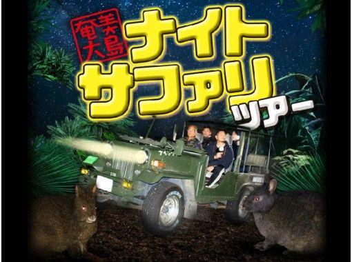【鹿児島・奄美大島】フルオープン4WDで行くナイトサファリツアー!アマミノクロウサギを探しに行こう!