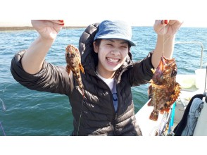 【도쿄 하네다] 고급 생선 쏨 뱅이 (무독성) 합승 배 ★ 7 명까지 OK ♪ 180 분 잡은 물고기를 먹을 수있는 가게 소개 가능!