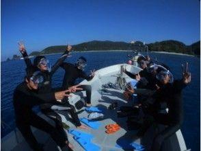 【シュノーケリング】ボートシュノーケリングの画像