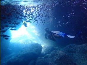 【青の洞窟】初心者・お子様歓迎!幻想的な伊良部島の青を見よう☆!ツアー写真付き!