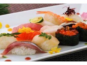 [奈良/北海寺町]讓我們來品嚐吃我們特有口味的壽司吧! <熱門的全尺寸手持課程(普通)>