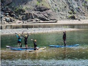 [Hokkaido/ Hidaka] Relaxing while watching the beautiful scenery ~ SUP stand up paddle board ~