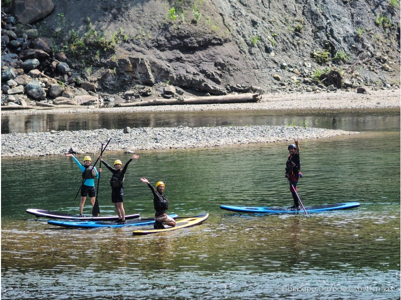 【北海道・SUP体験】透明度の高い支笏湖の湖面をクルージング!SUP体験(半日コース)の画像