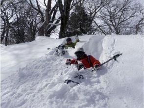 """[Tochigi/ Nasu Kogen] """" Snowshoes Downhill"""" lunch at Mt. JEANS!"""