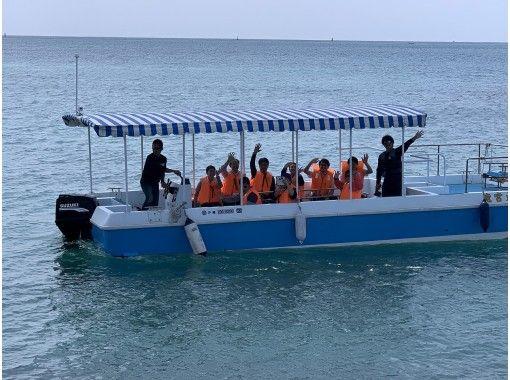 【冬季メニュー】魚のエサ付き! グラスボートで糸満のサンゴを見に行こう!