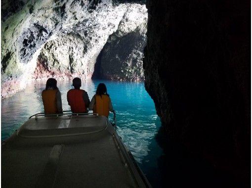 【11月~3月限定ウインタープラン】 北海道・小樽青の洞窟★名物船長のアドベンチャークルーズ