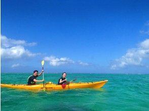 地域共通クーポンOK【沖縄・石垣島】北半球最大のアオサンゴ礁へ!白保シーカヤック&シュノーケリング 半日ツアー