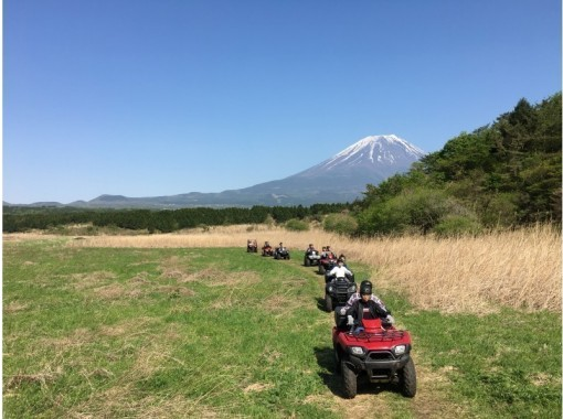 【GOTO取扱店】絶景富士山の大自然、大パノラマをひとり占め!自慢のロングコース(1時間、6㌔走行)三密の影響が少ない朝霧高原に行こう‼の紹介画像