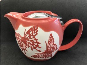 [Asakusabashi 1 minute] Take a break and have a cup of your own teapot. Engrave a nice pattern on the porcelain pot.