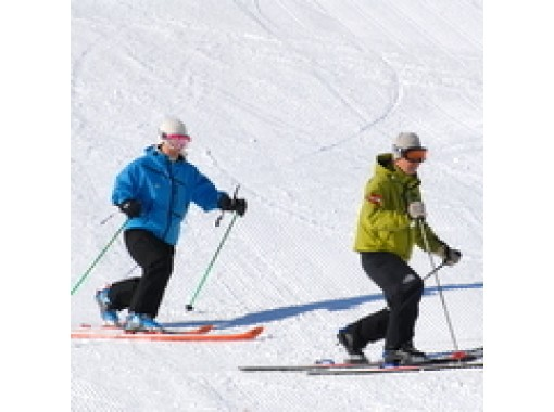 """[Miyagi/ Zao] Telemark lesson """"Applied course"""" night game also opened! (1 hour ~)の紹介画像"""