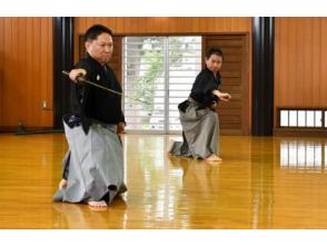 [Yamagata / Murayama] Tour course to enjoy seeing Iaido and serious sword swords in the birthplace of Iaia! Hayashizaki-style samurai show
