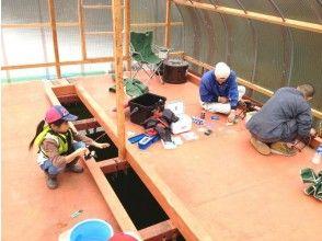 【長野・木崎湖】ワカサギ釣りお得な貸切プラン(ドーム1台定員15名)の画像