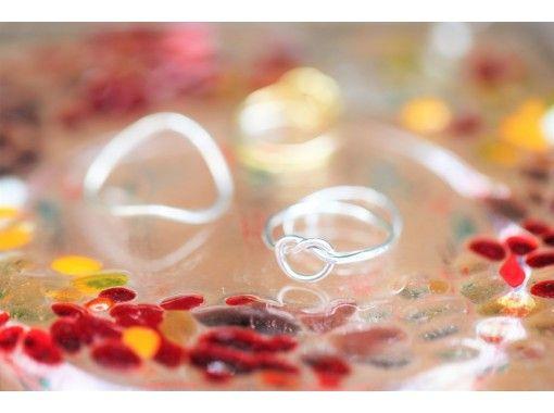 [東京,在青山1丁目站旁邊] 2000日元手工製作☆有趣的小巧銀製工藝戒指一日體驗♪在當地玩起來! ♪〜の紹介画像