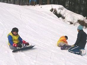【兵庫・但馬】キッズ対象!スキー&スノーボードスクール(60分コース)の画像