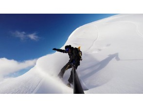 [Hiroshima/ Nishi Ward] Enjoy powder snow that cannot be experienced on the slopes! Backcountry half-day tour!