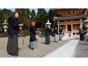 [Osaka/ Sennan City] Staying at a temple for 2 days and 1 night, experience swordsmanship-enjoy Japanese wabi sabi! (With a shuttle bus)