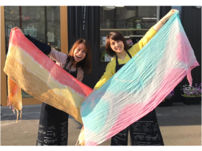 [Hiroshima/ Fukuyama] Somerabo soft texture Setouchi stall Textile dyeing experience
