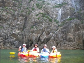 【Tottori · Uratomi coast】 Image of sea kayaking experience (Mesai course)
