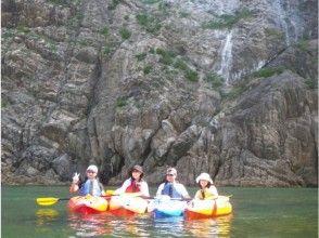 [Tottori Uradome Coast] sea kayaking experience (Ajiro course)