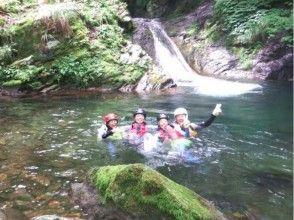 [Tottori Mitaki valley shower climbing and river trekking