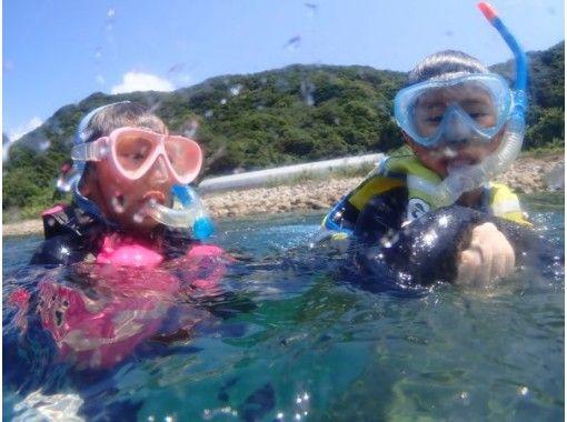 【熊本・天草】ビーチからのシュノーケリング{ファミリー/グループにお勧め}うしぶか海中公園