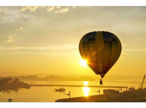三保の松原熱気球・パラグライダー体験