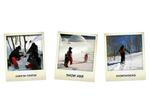 [Fukushima ・ Aizu Plateau] callout Snowshoes Experience (half-day course)