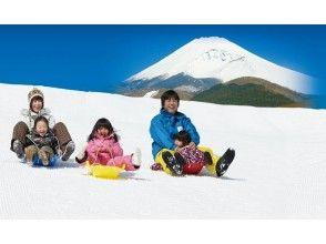 富士山和箱根海盜船的降雪體驗